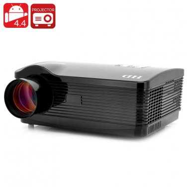 "Quad Core Android 4.4 Projector ""DroidBeam II"" - 1.5GHz Quad Core CPU"