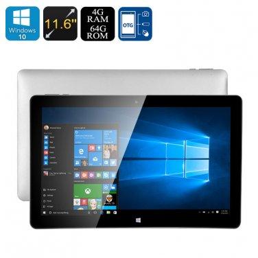 Jumper EZpad 6 Tablet PC - Licensed Windows 10, 4GB RAM, Intel Cherry Trail CPU