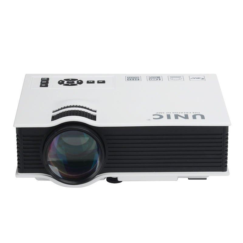 LCD Portable Home Cinema Projector �Ocular-View� - 800 Lumen