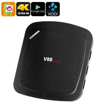 4K TV Box Scishion V88 - Quad-Core CPU, Android 6.0, 2GB RAM, 4K Support