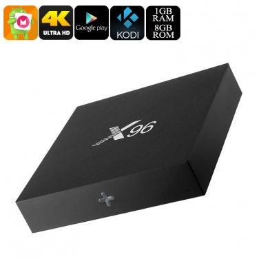 X96 Android 6.0 TV Box - 4K Movie Support, Google Play, Kodi TV, Airplay
