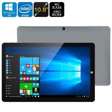 CHUWI HI10 Plus Tablet PC - Licensed Win 10 + Android 5.1, Z8350 64Bit CPU, 4GB