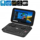GPD Windows 10 Mini Laptop - 5.5-Inch Display, Cherry Trail Z8750 CPU, Mini HDMI