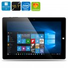 Chuwi Hi10 Ultrabook Tablet PC - Licensed Windows 10 + Android 5.1, 64Bit CPU
