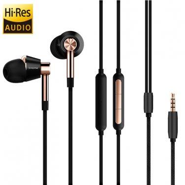 In-Ear Headphones 1More - Triple Drivers, Built-In Mic, 99dB, Aluminum Body