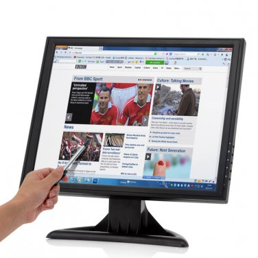 17 Inch Touch Screen LCD Monitor - 1280x1024 Resolution, VGA, HDMI, For PC/POS