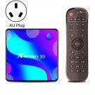 X88 Pro 10 4K Ultra HD Android TV Box, 2GB+16GB (AU Plug)