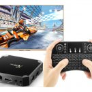 X96 Mini Android Smart TV Box Set Top Box, 2GB+16GB (UK Plug)