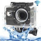 H16 1080P Portable WiFi Waterproof Sport Camera (Black)