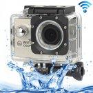 H16 1080P Portable WiFi Waterproof Sport Camera (Silver)