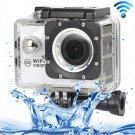 H16 1080P Portable WiFi Waterproof Sport Camera (White)