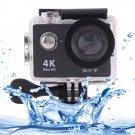 H9 4K Ultra HD1080P 12MP 2 inch LCD Screen WiFi Sports Camera (Black)