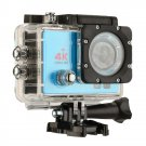 Q3H 2.0 inch Screen WiFi Sport Action Camera Camcorder with Waterproof Housing Case (Blue)