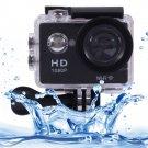 Sports Cam Full HD 1080P H.264 1.5 inch LCD WiFi Edition Sports Camera (Black)