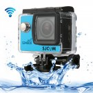 SJCAM SJ4000 WiFi Full HD 1080P 12MP Diving Bicycle Action Camera (Blue)