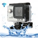 SJCAM SJ4000 WiFi Full HD 1080P 12MP Diving Bicycle Action Camera (Silver)