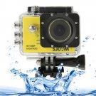 SJCAM SJ5000 Novatek Full HD 1080P 2.0 inch LCD Screen Sports Camcorder Camera (Yellow)