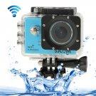 SJCAM SJ5000 Novatek Full HD 1080P 2.0 inch LCD Screen WiFi Sports Camcorder Camera (Blue)