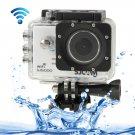 SJCAM SJ5000 Novatek Full HD 1080P 2.0 inch LCD Screen WiFi Sports Camcorder Camera (White)