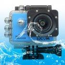 SJCAM SJ5000X WiFi Ultra HD 2K 2.0 inch LCD Sports Camcorder with Waterproof Case (Blue)