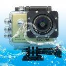 SJCAM SJ5000X WiFi Ultra HD 2K 2.0 inch LCD Sports Camcorder with Waterproof Case (Gold)