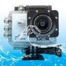 SJCAM SJ5000X WiFi Ultra HD 2K 2.0 inch LCD Sports Camcorder with Waterproof Case (White)