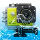 SJCAM SJ5000X WiFi Ultra HD 2K 2.0 inch LCD Sports Camcorder with Waterproof Case (Yellow)
