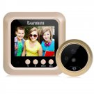 Danmini W5 2.4 inch Screen 2.0MP Security Camera No Disturb Peephole Viewer Doorbell (Gold)