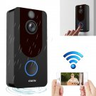 V7 Standard Edition 1080P Full HD Weather Resistant WiFi Security Monitor Intercom Video Doorbell