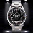 Arsenal FC The Gunners Soccer Logo Wristwatches Sport Metal Watch