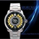 new unisex design hot Orvis Battenkill black Fly Fishing Reel Sport Metal Watch