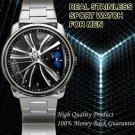 BMW 4 Series from Side Wheel Cap Sport Metal Watch