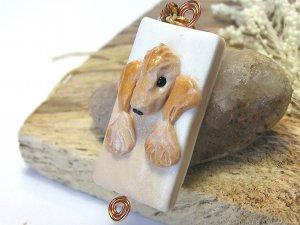 Bedlington Terrier Pendant