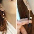 Pearl flower lovely earrings