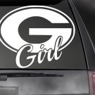 "GEORGIA GIRL Vinyl Decal, Car Truck Window Sticker! 8 COLORS!! 4.75"" x 6"""