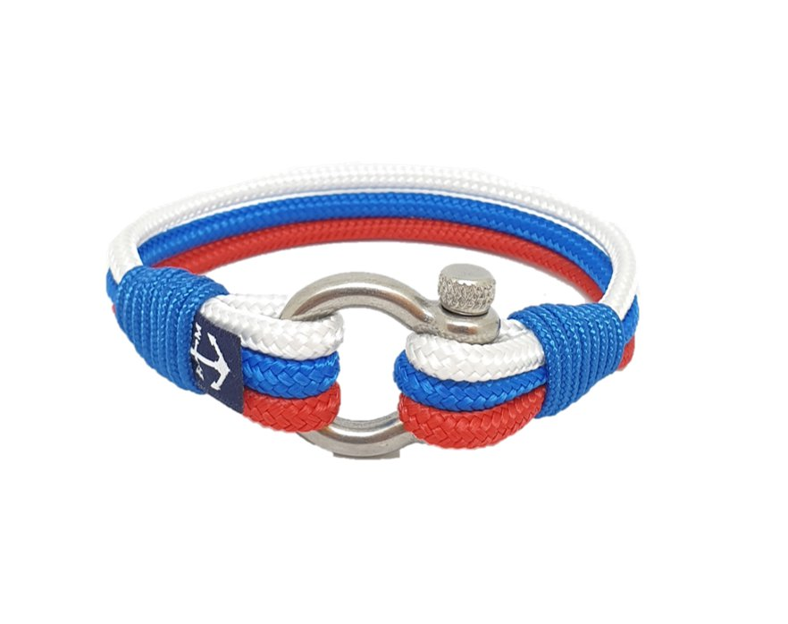 Russian Flag Nautical Bracelets by Bran Marion