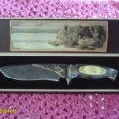 Decorative Wolf knife