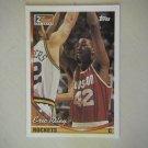 1994 Topps 1993 2nd Round NBA Draft Eric Riley Rockets #310