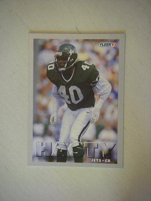 1993 Fleer James Hasty New York Jets #189