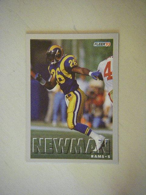 1993 Fleer Anthony Newman Rams #171