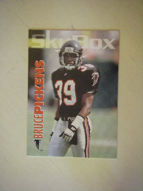 1993 SkyBox Bruce Pickens Atlanta Falcons #9