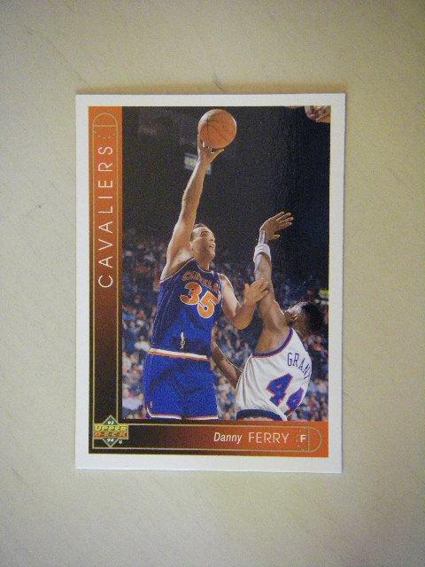 1993 - 1994 Upper Deck Danny Ferry Cavaliers #46