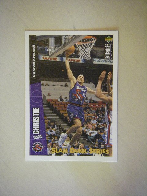 1996 Upper Deck Collector's Choice Slam Dunk Series Doug Christie 33/40