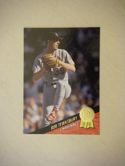 1993 The Leaf Set Series One Bob Tewksbury Cardinals #44