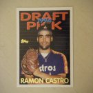 1994 Topps Draft Pick Rookie Card Ramon Castro Astros #313