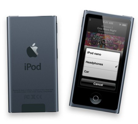 Apple iPod Nano 16GB SLATE (grey) (7th Generation) NEWEST MODEL