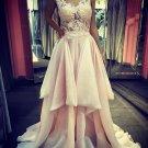 Sexy V-Neck Long Prom Evening Dresses E0603