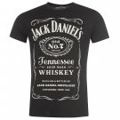 Jack Mens Daniels T Shirt Long Sleeves Print Casual Top Clothing Brand New