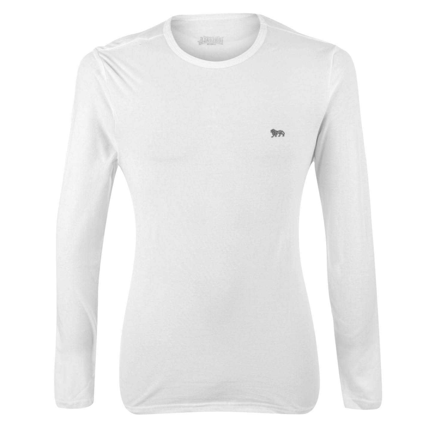 Lonsdale Long Sleeve T Shirt Mens