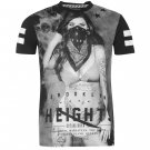 Fabric Mens Girl T Shirt Round Neck Short Sleeve Tee Top Clothing Wear